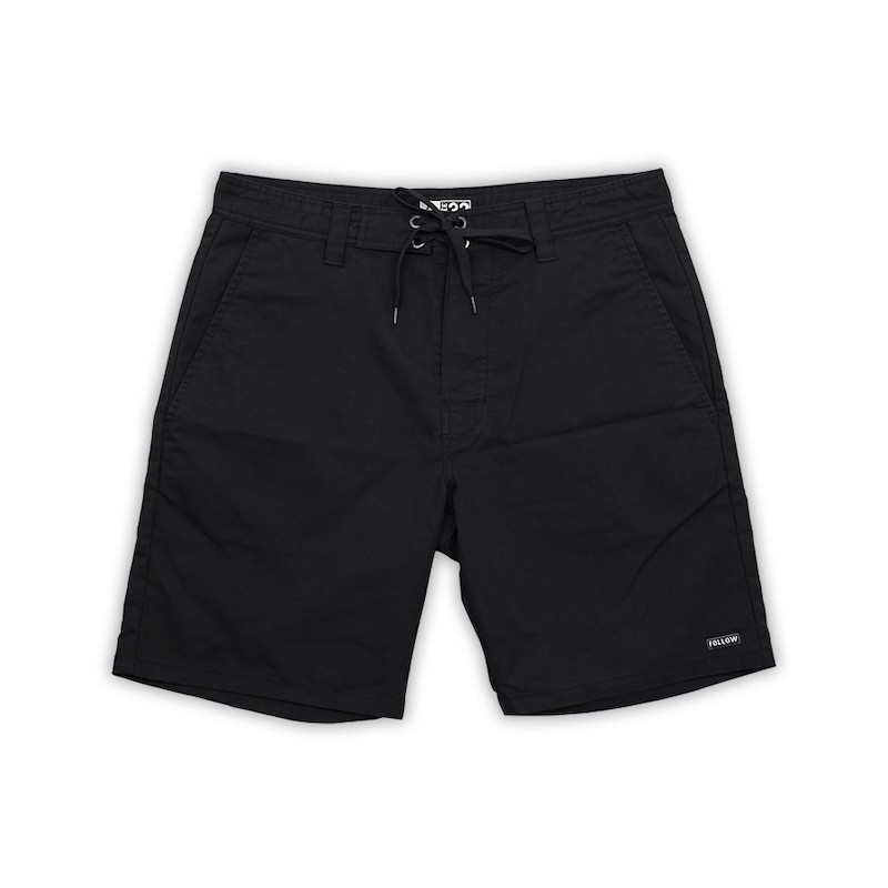 Follow ATV Boardie - Black Boardshort Férfi