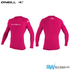 ONeill YOUTH  BASIC SKINS LONG SLEEVE CREW Lycra Férfi