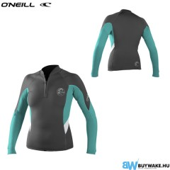 ONeill wetsuits wms BAHIA FRONT ZIP 1MM JACKET   Neoprene Női