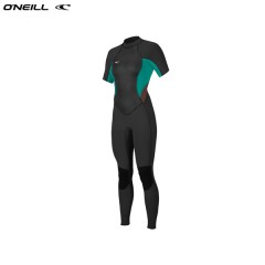ONeill wetsuits wms BAHIA 2mm Back Zip S/S Full Neoprén Női