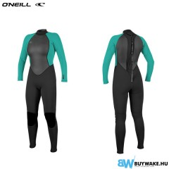 ONeill wetsuits wms REACTOR II 3/2 BACK ZIP FULL Neoprén Női