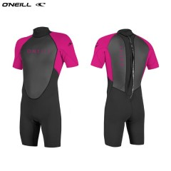 ONeill wetsuits Youth REACTOR II 2mm Back Zip S/S Spring   Neoprene Gyerek