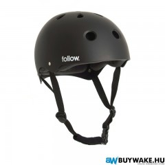 Follow SAFETY FIRST HELMET - Black Wakeboard Sisak Férfi