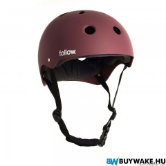 Follow SAFETY FIRST HELMET - Red Wakeboard Sisak Férfi