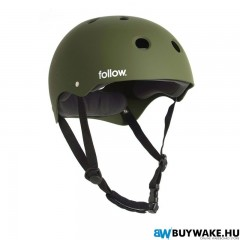 Follow SAFETY FIRST HELMET - Olive Wakeboard Sisak Férfi