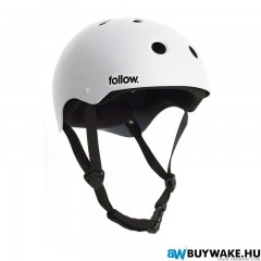 Follow SAFETY FIRST HELMET - White Wakeboard Sisak Férfi