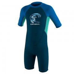 ONeill wetsuits Toddler REACTOR II 2mm Back Zip S/S Spring - Boys Neoprén Gyerek