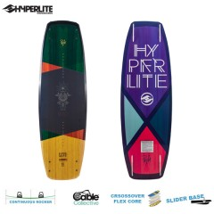 Hyperlite wakeboard THE PRIZM 2018  Wakeboard deszka Női